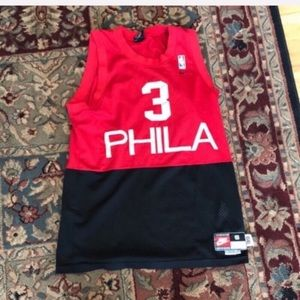 Retro Allen Iverson jersey Philadelphia 76ers
